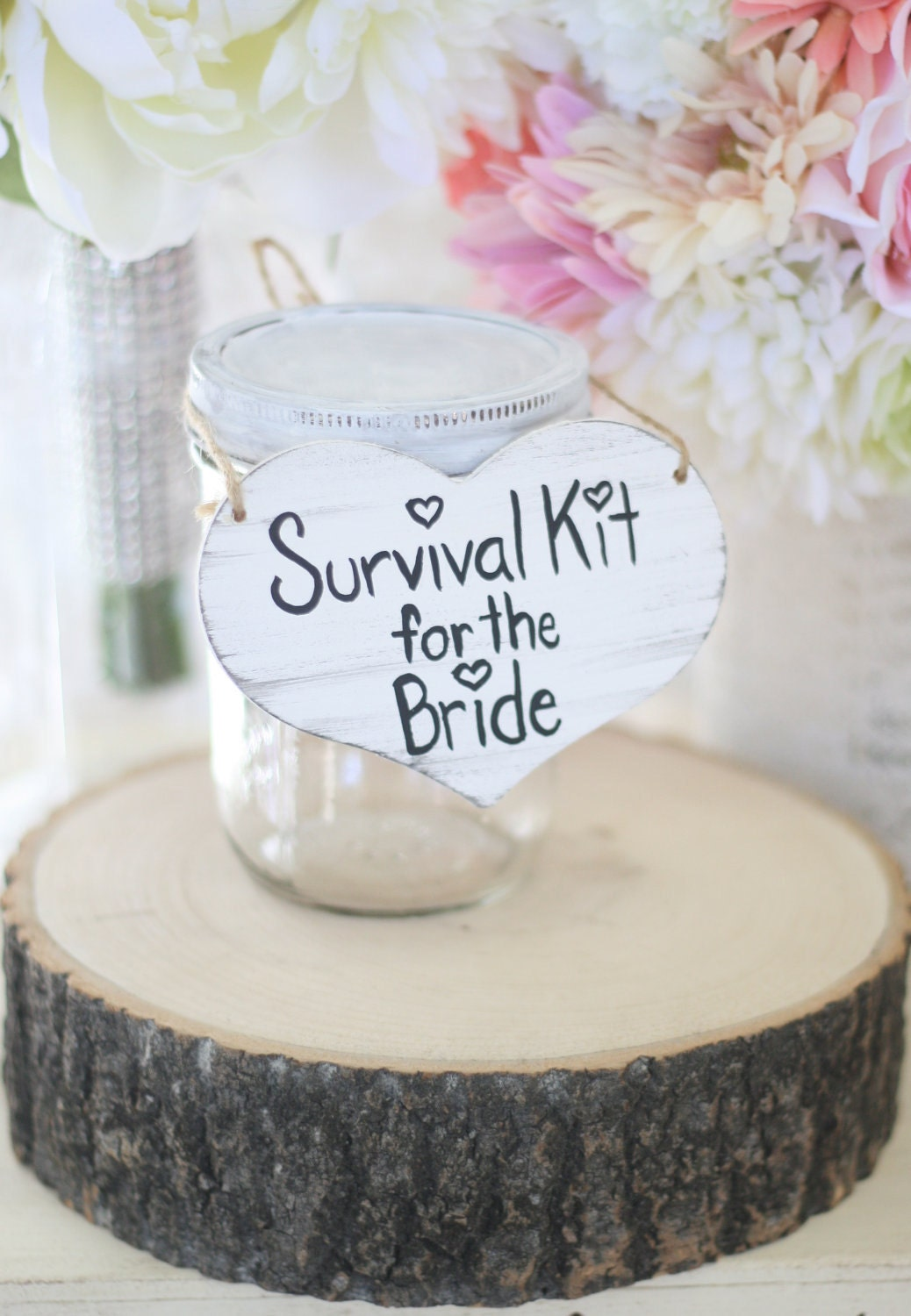Bridal shower gift survival kit for the bride by braggingbags for Bridal shower gifts for the bride who has everything