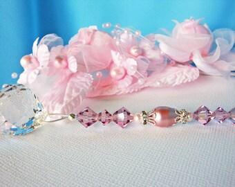 Ceiling Fan Pull Chain Pink Purple Little Girls Room Baby Girl Nursery Decor Light Pulls