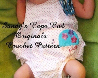 Baby Hippie Booties and Infant to Adult Hippie Hat Crochet Pattern PDF 116