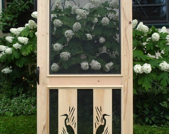 Chesapeake Cypress Screen Door