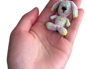 Tiny Rainbow Bunny - PDF Crochet Pattern - Instant Download