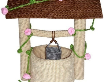 Wishing Well - PDF Crochet Pattern - Instant Download