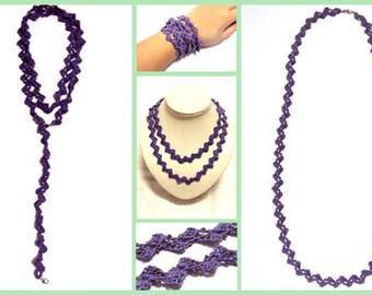 Versatile Bijoux - PDF Crochet Pattern - Instant Download