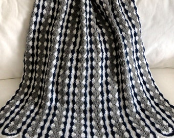 Mile A Minute Shell Blanket - PDF Crochet Pattern - Instant Download