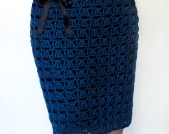 Openwork Shell Skirt - PDF Crochet Pattern - Instant Download