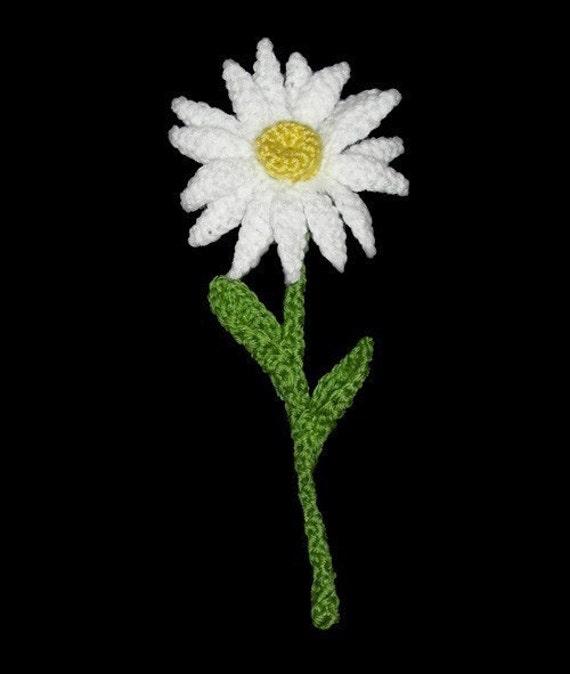 Daisy - PDF Crochet Pattern - Instant Download