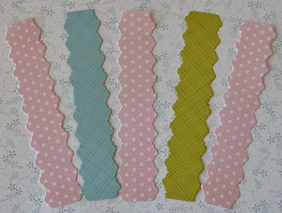 Custom printed paper napkin rings