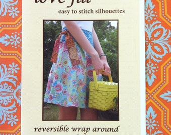 lovejill reversible wrap skirt pattern for women