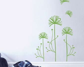 Mini Forest - Floral Vinyl Wall Decal