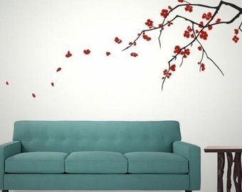 Cherry Blossoms (Dual Colour) - Large Vinyl Wall Decals