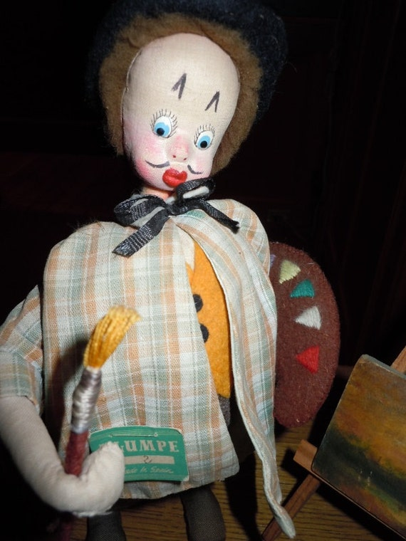 Klumpe Art Teacher Doll With Easel
