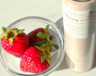 All Natural Face Mask Mix with Real Strawberry, Yogurt, Honey and Organic Oats - No Preservatives - On Sale