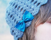 Reserved for Pam - Cashmere Petal Cap