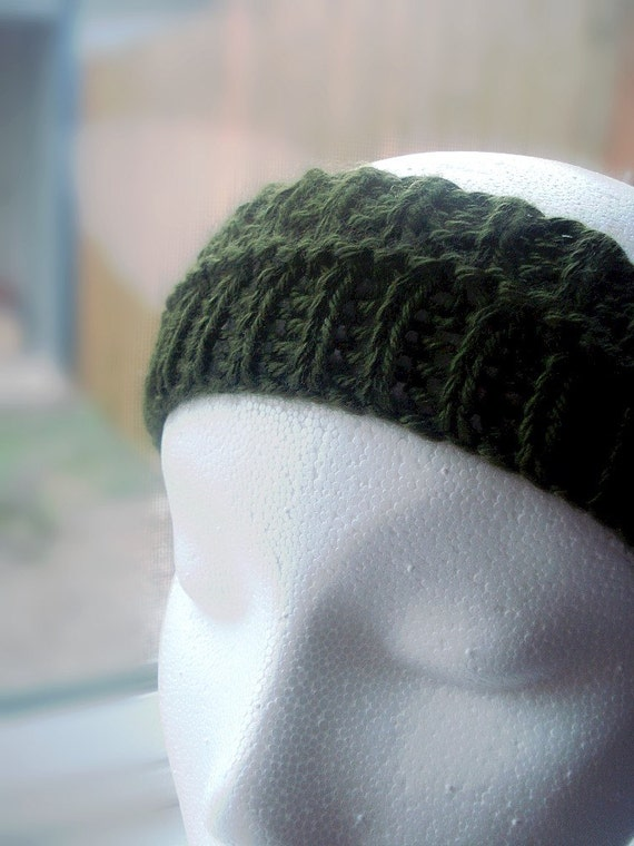 Knit Headband Pattern Circular Needles : Knitting Pattern Headband Tutorial Circular by ...