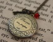 Vampire Inspired Necklace - Romantic Locket