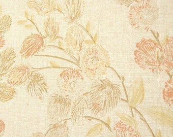 Soft Wheat Wallpaper, Warm Comforting Neutral Colors / Criss Cross Texture / Fabric-Backed / Double Roll / 70 Sq. Ft.