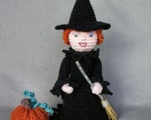 Holiday Witch - Crochet Pattern
