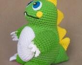 Darwin the Dinosaur -  Crochet Pattern