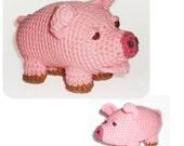 Little Piggie - PDF Crochet Pattern