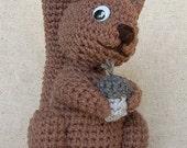 Crochet Squirrel -  Crochet Pattern