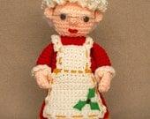 Mrs. Claus -  Crochet Pattern