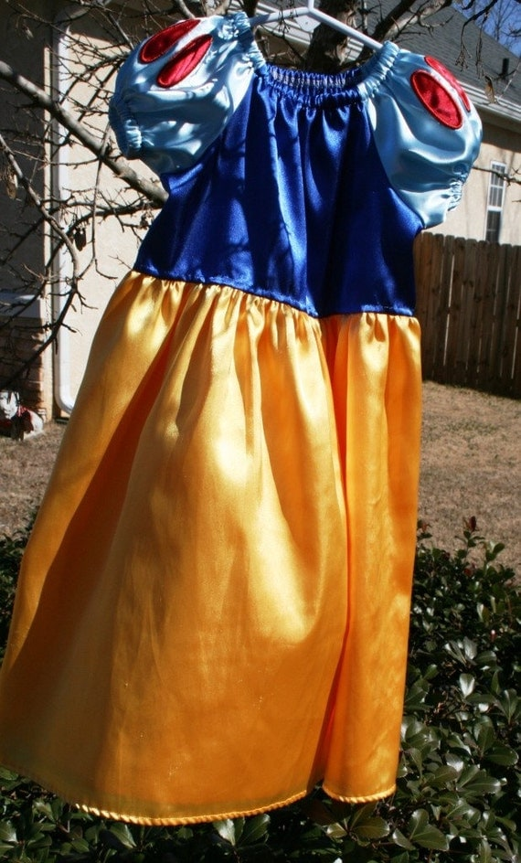Snow White dress costume dress up princess gown