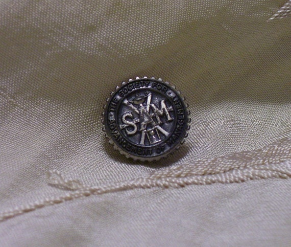 Vintage Society for The Advancement of Management Lapel Pin