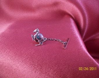 Vintage Tiny Prancing Horse Tie Tac