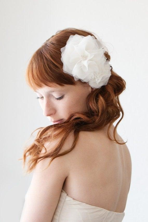 CUSTOM Listing for Katie - Morning Blossom - Bridal Hair piece