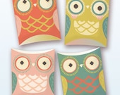 Beautifully designed decorations for holidays by for Owl pillow box template