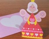Valentine Fairy 3D printable card