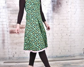"Vintage Inspired 1960s Dress by Tracy McElfresh""Shamrock I Love You"" Reversible Dress"