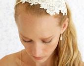 clearance sale Bridal hair accessories -Bridal headband -lace headband