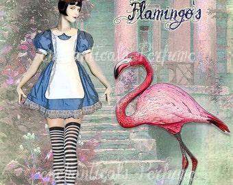 Alice's Wandering Flamingo's Artisan Perfume Oil