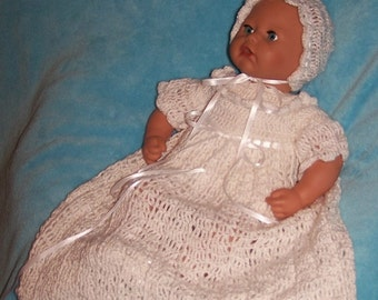 Tiny Princess Christening Blessing Gown Outfit Set