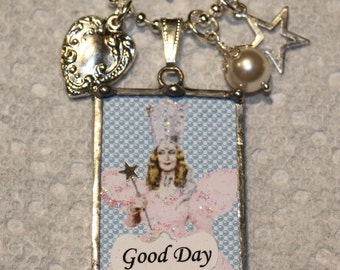 Good Day, Bad Day Wicked Wizard of Oz Witch Necklace