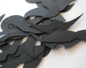 """4"""" Mustache Die Cuts in Your Choice of Color"""