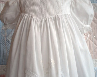KEEPING TRADITIONS Heirloom Christening Gown