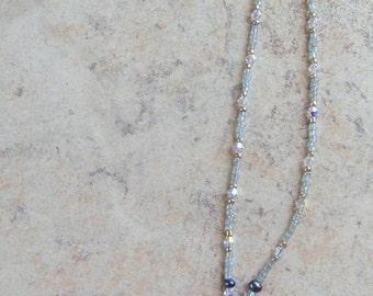 Beaded Necklace w\/ Pendant
