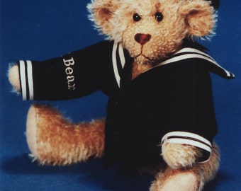 PDF First Mate USS Teddy,Digital  E-Pattern for 12 Inch Bear & Uniform, Instant download