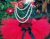 Red Tutu Perfect for Birthdays Dress Up Photography or Dance 2t - 5t
