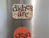 dishwasher magnet - retro eggbeaters