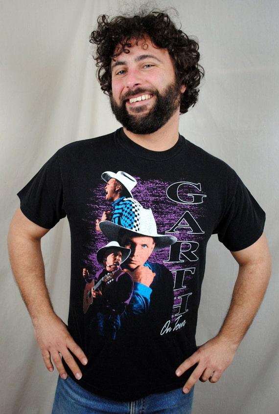 Vintage 1992 Garth Brooks Tour Tee Shirt - XL PLUS