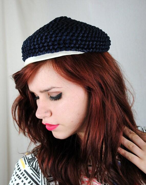 Vintage 1950's Elsa Schiaparelli Cloche Hat
