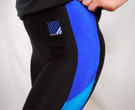 Vintage 80s Sunbuster Spandex Sporty Pants
