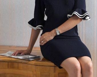SPLENDID vintage inspired 50s dress pencil custom made