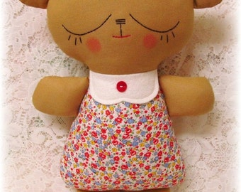 Easy Rag Doll Patterns Easy teddy bear pattern,
