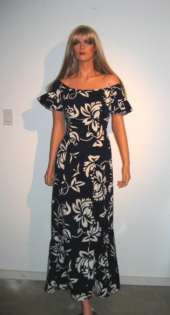 60 S 70 S Hawaiian Hula Mermaid Dress Bombshell