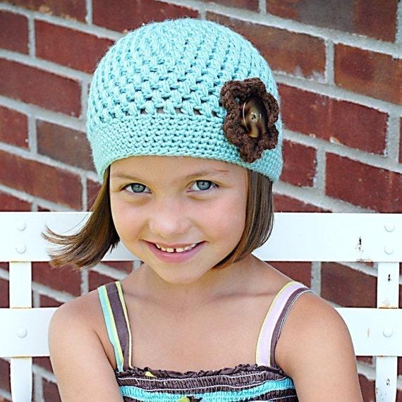 Chloe Cap Crochet Hat Pattern Instant Download Permission
