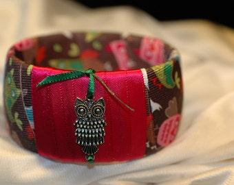 Charming Owl Bangle